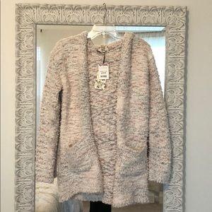 Multicolor cardigan sweater